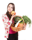 Healthy groceries. Stock Photos
