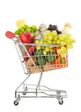 Healthy groceries shopping Stock Images
