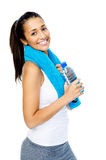 Healthy gym woman Stock Photos