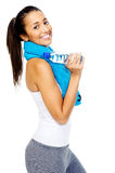 Healthy gym woman Royalty Free Stock Photos