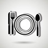Healthy habits design. Illustration eps10 graphic Stock Photography