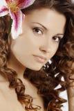 Healthy hair Stock Image