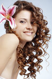 Healthy hair Stock Images