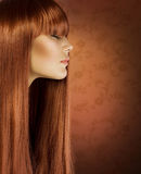 Healthy Hair Royalty Free Stock Photos
