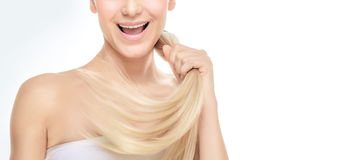 Healthy hair concept Stock Image