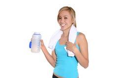 Healthy Happy Fitness Woman
