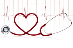 Healthy heart Stock Photography