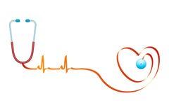 Healthy heart royalty free illustration