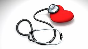Healthy heart concept animation. stock video footage