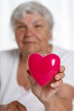Healthy heart Stock Photography