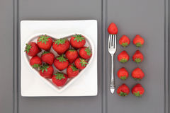 Free Healthy Heart Food Stock Photography - 48742712