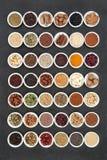 Healthy Heart Food Sampler royalty free stock photos