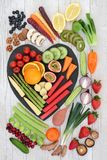 Healthy Heart Food royalty free stock images