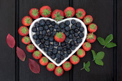 Healthy Heart Fruit Royalty Free Stock Photography