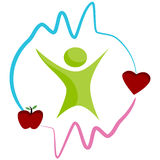 Healthy Heart Icon Royalty Free Stock Image