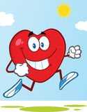 Healthy Heart Jogging Stock Photo