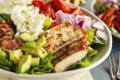 Healthy Hearty Cobb Salad Royalty Free Stock Image