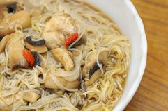 Healthy Herbal Noodles Stock Photo