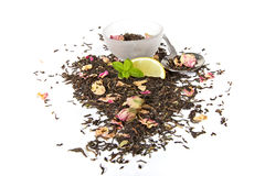 Healthy Herbal Tea Stock Photo