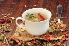 Healthy herbal Tea Royalty Free Stock Image