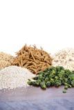 Healthy High Fiber Prebiotic Grains Royalty Free Stock Photos