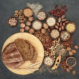 Healthy High Fibre Food Stock Photography