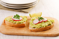 Healthy homemade appetizer Royalty Free Stock Image