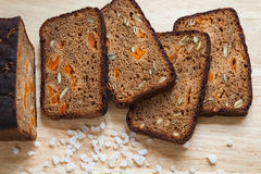 Healthy Homemade Bread Royalty Free Stock Photos
