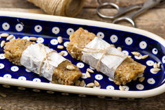 Healthy homemade candies Royalty Free Stock Photography
