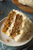 Healthy Homemade Carrot Cake Royalty Free Stock Images