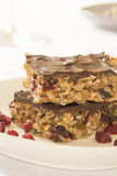 Healthy homemade energy bars Stock Photography
