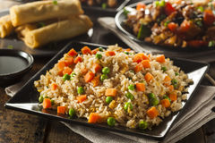 Healthy Homemade Fried Rice Royalty Free Stock Photos