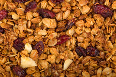 Healthy homemade granola or muesli Royalty Free Stock Image