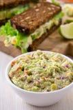 Healthy homemade guacamole, avocado  dip Stock Image