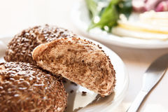 Healthy homemade rolls Royalty Free Stock Images