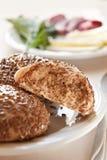 Healthy homemade rolls Royalty Free Stock Photo
