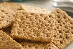 Healthy Honey Graham Crackers Royalty Free Stock Photography