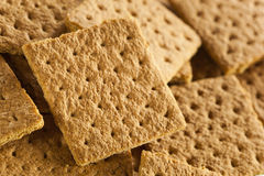 Healthy Honey Graham Crackers Stock Images