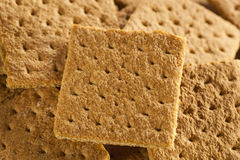 Healthy Honey Graham Crackers Stock Photo
