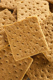 Healthy Honey Graham Crackers Stock Photos