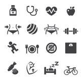 Healthy icon Royalty Free Stock Photo