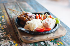 Healthy Indonesian food Royalty Free Stock Photos
