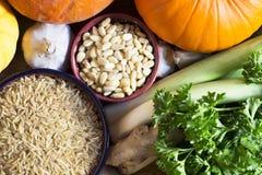 Healthy Ingredients Stock Image