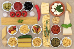 Healthy Italian Food Stock Image