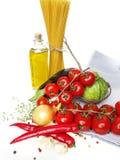 Healthy italian food Royalty Free Stock Photo