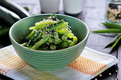 Healthy japanese cuisine goma ae Stock Photos