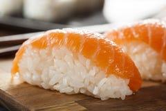 Healthy Japanese Nigiri Sushi Stock Image