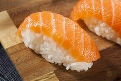 Healthy Japanese Nigiri Sushi Royalty Free Stock Photography
