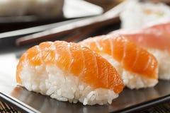 Healthy Japanese Nigiri Sushi Royalty Free Stock Photo