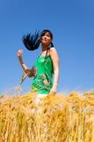 Healthy joyful female life Royalty Free Stock Photography